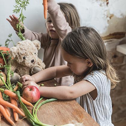 Smaken ontdekken kinderopvang