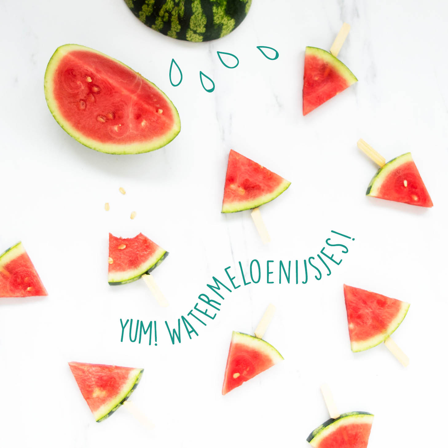 recept watermeloenijsjes